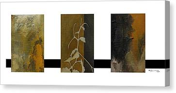 Xoanxo Canvas Print - Grapevine Compositional Collage by Xoanxo Cespon