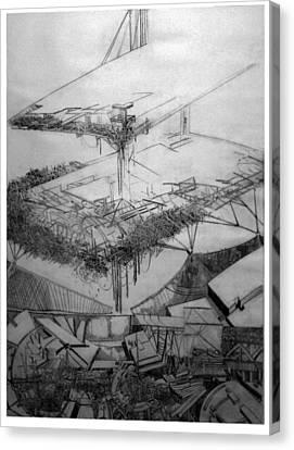 Abstract Digital Canvas Print - Graphic Art  Europa 2013 by Waldemar Szysz