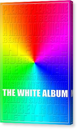 Graphic Beatles Canvas Print by Andrew Fare