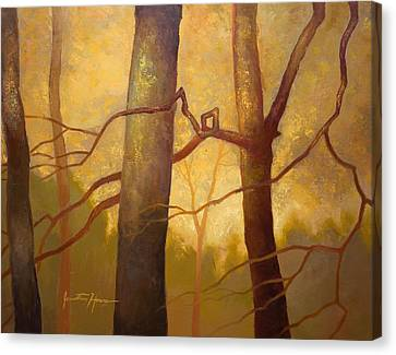Graphic Trees Canvas Print by Jonathan Howe