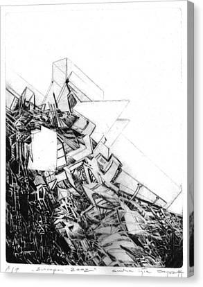 Abstract Digital Canvas Print - Graphics Europa 2014 by Waldemar Szysz