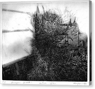Graphis Art Eurpa 2003 Canvas Print by Waldemar Szysz