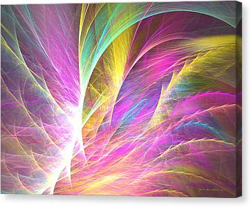 Grass Of Dreams Canvas Print by Sipo Liimatainen
