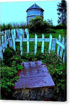 Grave Situation 1 Canvas Print by Randall Weidner