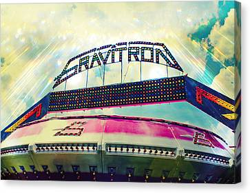 Gravitron Carnival Fair Ride Canvas Print by Eye Shutter To Think