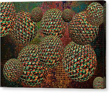 Gravity Chamber Canvas Print by Debbie Portwood