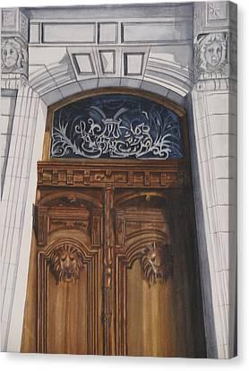 Great Door Canvas Print by Emmanuel Turner