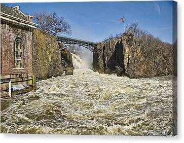 Great Falls Of Paterson    Canvas Print