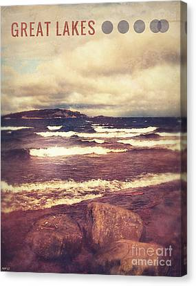 Canvas Print featuring the photograph Great Lakes by Phil Perkins