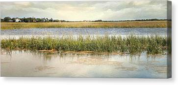 Great Marsh Canvas Print by Karen Lynch