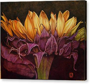 Great Sunflower Canvas Print
