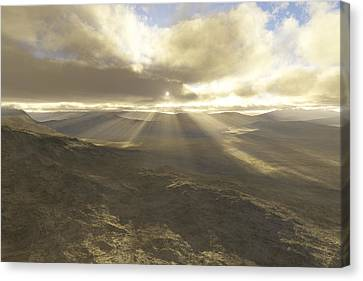 Great Valley Canvas Print
