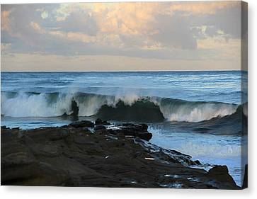 Great Waves Canvas Print
