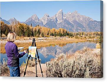 Great Workplace Canvas Print by Bob and Nancy Kendrick