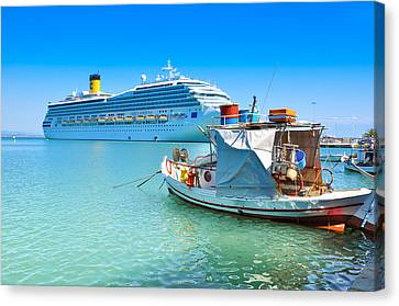 Greece 1 Canvas Print by Stavros Argyropoulos