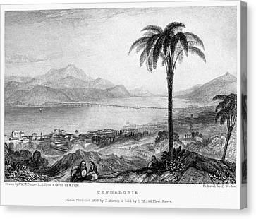 Greece: Kefalonia, 1833 Canvas Print by Granger