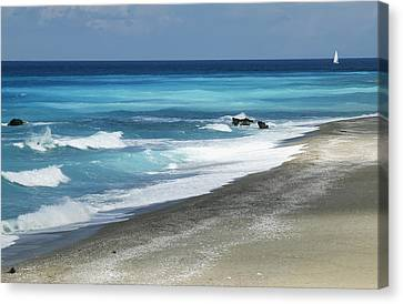 Greece, Lefkas Canvas Print by Axiom Photographic