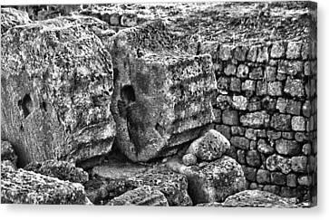 Greek Ruins  Canvas Print by Thomas Kessler