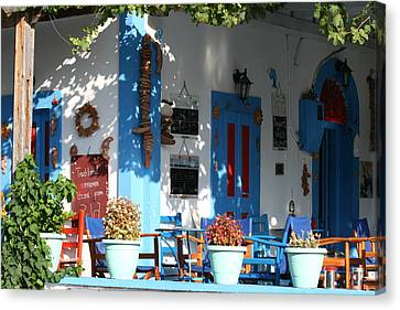 Greek Tavern  Canvas Print by Andrei Fried