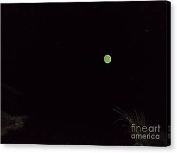 Green And Serene Canvas Print