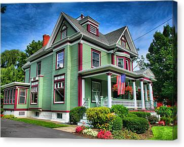 Green House Canvas Print by Steven Ainsworth