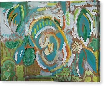 Green Canvas Print by Jay Manne-Crusoe