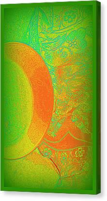 Green Mango Bali Style Canvas Print