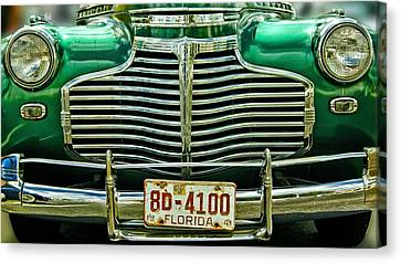 Green Monster Canvas Print by Nancie Rowan