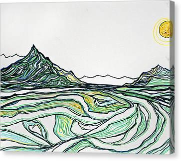 Greenies Canvas Print by Stephanie Meyer