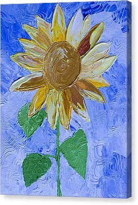 Greetings To Autumn Canvas Print by Heidi Smith