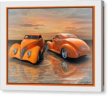 Gregs 39 Ford Canvas Print by John Breen