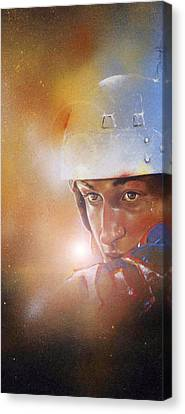 Gretzky Canvas Print by Gary McLaughlin