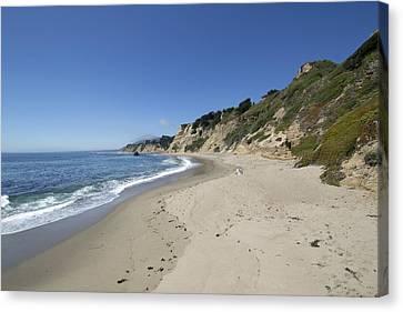 Greyhound Rock State Beach Panorama - Santa Cruz - California Canvas Print by Brendan Reals