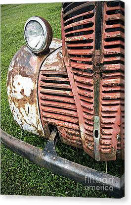 Grilled Canvas Print by Glennis Siverson