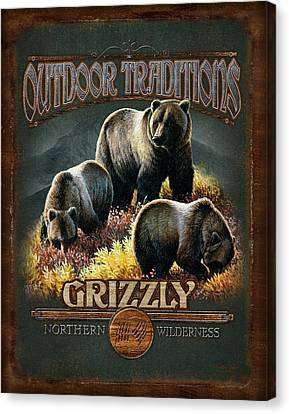 Grizzly Traditions Canvas Print