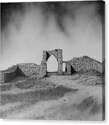 Gronez Castle Canvas Print