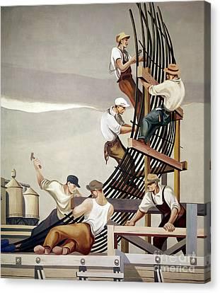 Gropper: Dam, 1939 Canvas Print by Granger