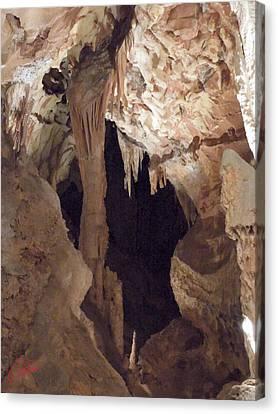 Grotte Magdaleine Region Ardeche France Canvas Print by Colette V Hera  Guggenheim