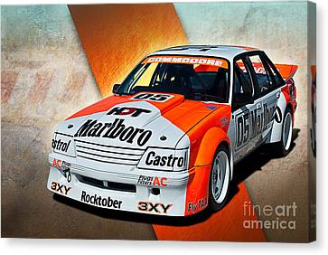 Group C Vk Commodore Canvas Print by Stuart Row