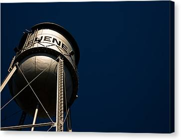 Gruene Water Tower Canvas Print
