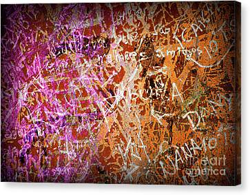 Grunge Background 3 Canvas Print by Carlos Caetano