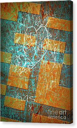 Grunge Background 6 Canvas Print by Carlos Caetano