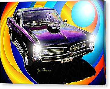 GTO Canvas Print by John Thompson