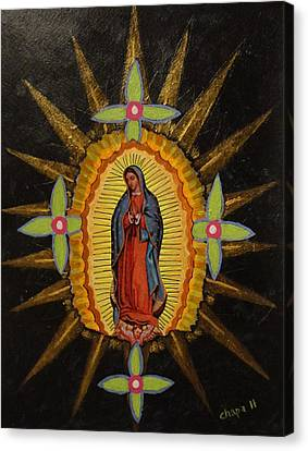 Guadalupe Canvas Print by Manny Chapa