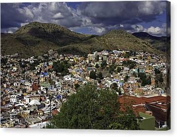 Guanajuato Vista No. 1 Canvas Print by Lynn Palmer