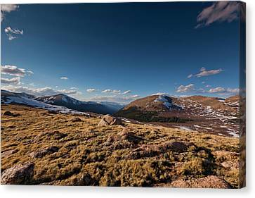Guanella Pass Colorado Canvas Print by Richard Steinberger