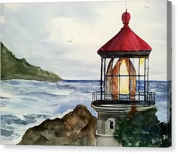 Guiding Light Canvas Print by Polly Barrett
