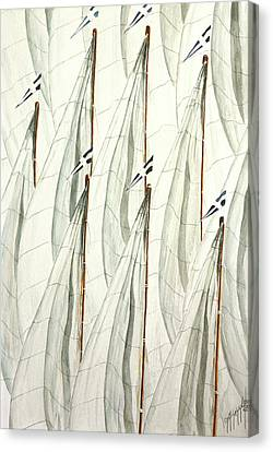 Guidoni Canvas Print by Giovanni Marco Sassu