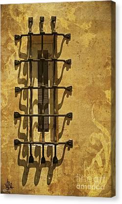 Guineveres Window Canvas Print by Van Schipper