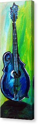 Guitar 1 Canvas Print by Amanda Dinan
